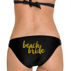 Beach Bride Bathing Suit Bottoms