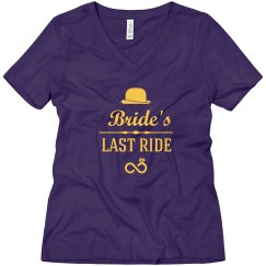 Bride's Last Ride tshirt