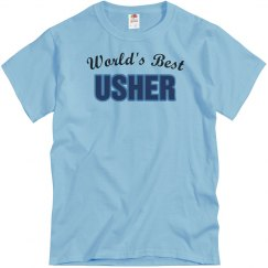 World's Best Usher