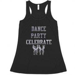Dance Party Celebrate Silver