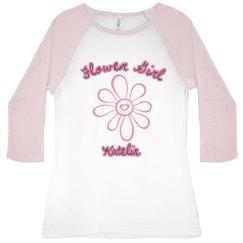 Flower Girl 3/4 Sleeve