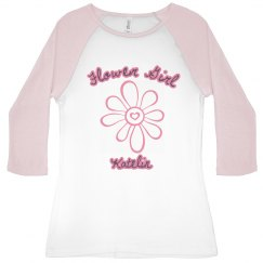 Flower Girl 3/4 Sleeve