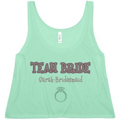 Team Bride Ring Tank