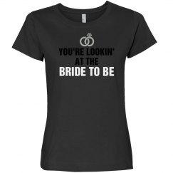 BrideTo Be Ring Tee