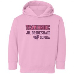 Team Bride Toddler Hoodie