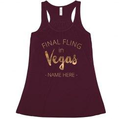 Custom Final Vegas Fling Gold