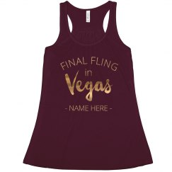 Custom Final Vegas Fling Gold
