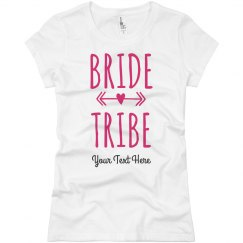 Custom Bachelorette Bride Tribe Tee