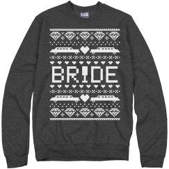 Trendy Christmas Bride