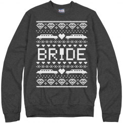 Trendy Christmas Bride