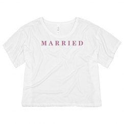 Married Honeymoon Tee