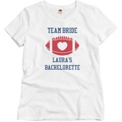 Team Bride Football Bachelorette Jersey