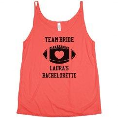 Team Bride Football Bachelorette Jersey