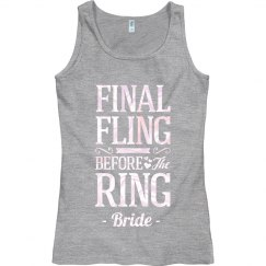 Metallic The Final Fling Bride