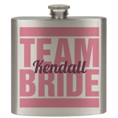 Team Bride Flask Girls 2