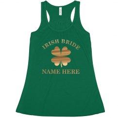 Custom Irish Bride In Gold