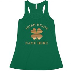 Custom Irish Bride In Gold