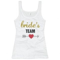 Bride's Team Tank Top