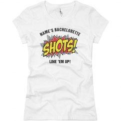 Pow Bachelorette Shots