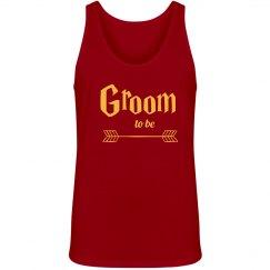 Groom Tank Top