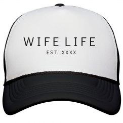 Wife Life Custom Wedding Date