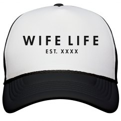 Wife Life Custom Wedding Date