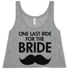 Last Ride For The Bride