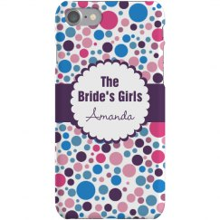 Bridal Party iPhone Case