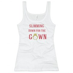 Slimming Down for Gown