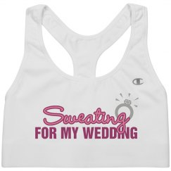 Sweating For Wedding