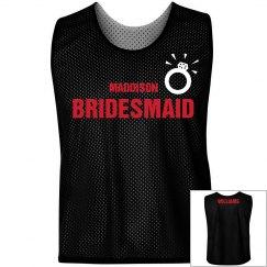 Bridesmaid Jersey W/Back