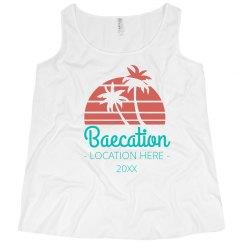 Custom Bachelorette Baecation