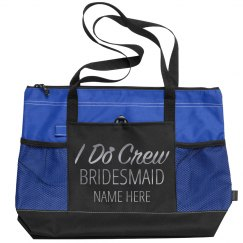 Shiny Silver I Do Crew Bridesmaid