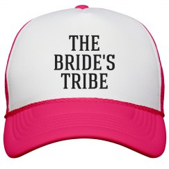 Neon Pink Bride's Tribe