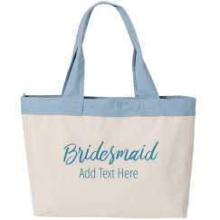 Custom Name Bridesmaid Script