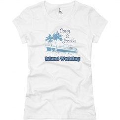 Island Wedding Tee