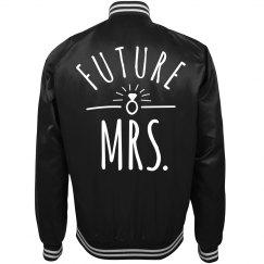 Future Mrs Trendy Bridal Gift Bomber Jacket
