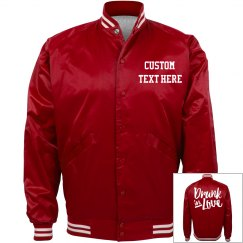 Drunk In Love Custom Bachelorette Bomber Jackets