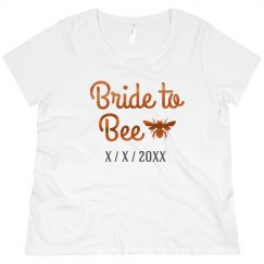 Bride to Bee Bronze Metallic
