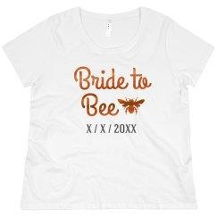 Bride to Bee Bronze Metallic