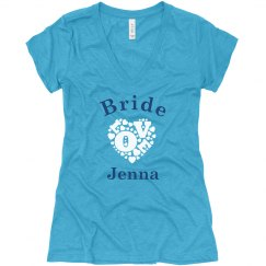Bride With Love Heart