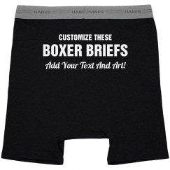 Custom Boxers For Grooms & Men