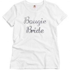 Bougie Bride Silver Metallic