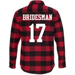 Bridesman Flannel Bachelorette