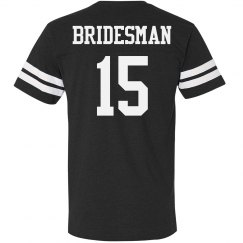 Bridesman Custom Number