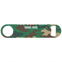 Custom Best Man Camo Print
