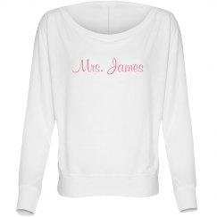Mrs. James Fashion Tee