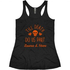 Till Death Do Us Part Halloween Tank
