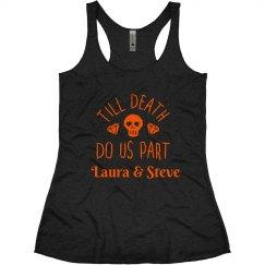 Till Death Do Us Part Halloween Tank