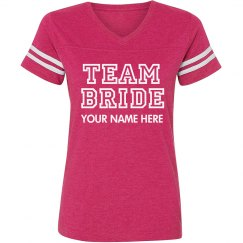 Custom Varsity Team Bride